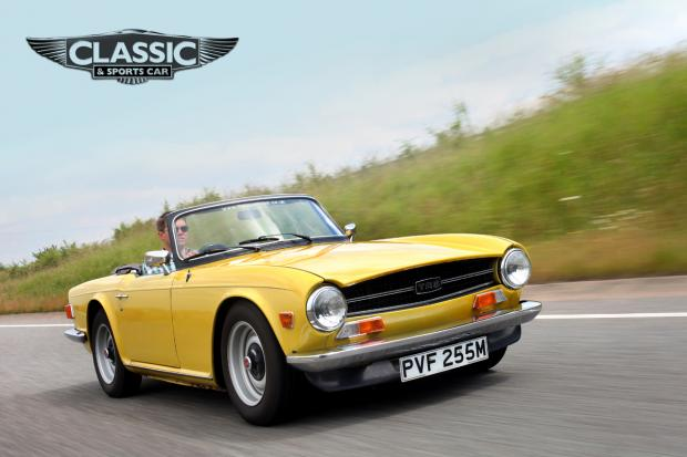 Triumph TR6: Who needs rarity when you're having this much fun?