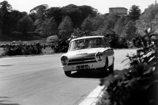 ... Car Championship As He Was For His F1 Career, But He Won Over Thousands  More Fans With His Tin Top Feats, Like This Drive At Crystal Palace In 1964.