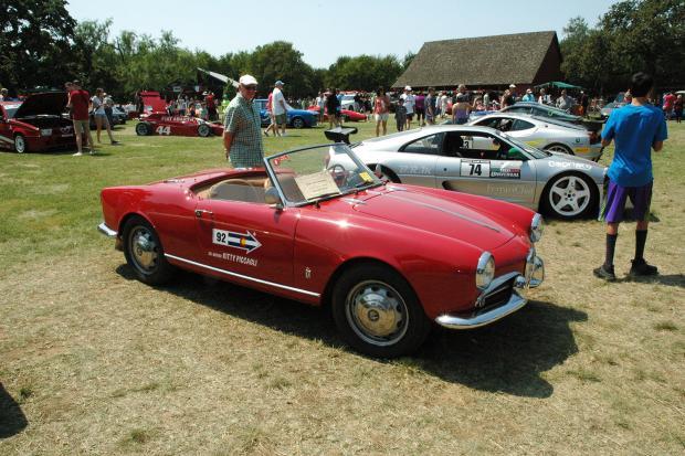 Italian Car Club Takes Over Historic Texas Farm Classic Sports Car - Italian car show