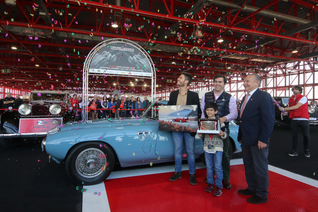 Pegaso Z-102 takes top honours at ClassicAuto Madrid