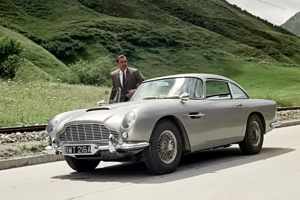 James Bond's Goldeneye DB5 set for £1.2m sale