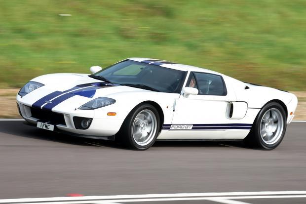 Classic Sports Car Fords Ferrari Beaters