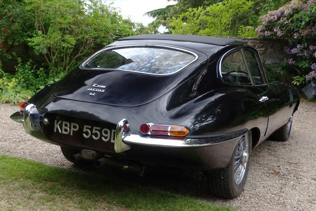Classic & Sports Car – Rare 'shark-gill' E-type for sale