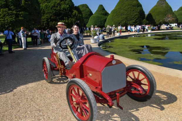 Classic & Sports Car – Unique 'Boat Tail' Mercedes sails to victory at Hampton Court Palace concours