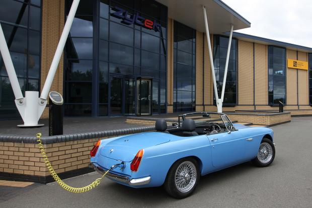 Classic & Sports Car – Electric MGB revealed