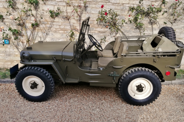 Classic Jeeps For Sale >> Steve Mcqueen S Willys Jeep Is For Sale Classic Sports Car