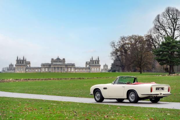 Classic & Sports Car – Aston Martin reveals reversible EV solution for classic cars