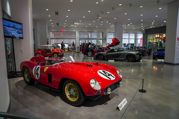 Ex-Fangio Ferrari 290MM sells for $22m at RM Sotheby's Petersen auction