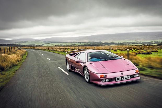 A Beauty And A Beast Driving The Lamborghini Diablo Se30 Classic