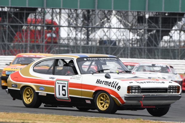 Classic & Sports Car – Ford Capris to fight for anniversary trophy at Silverstone Classic