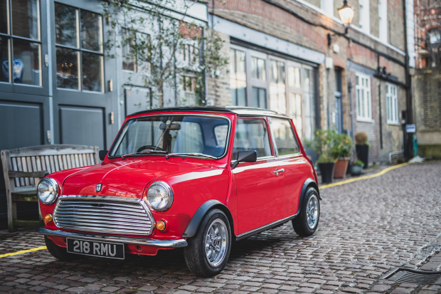 You can now buy a classic Mini with an electric engine