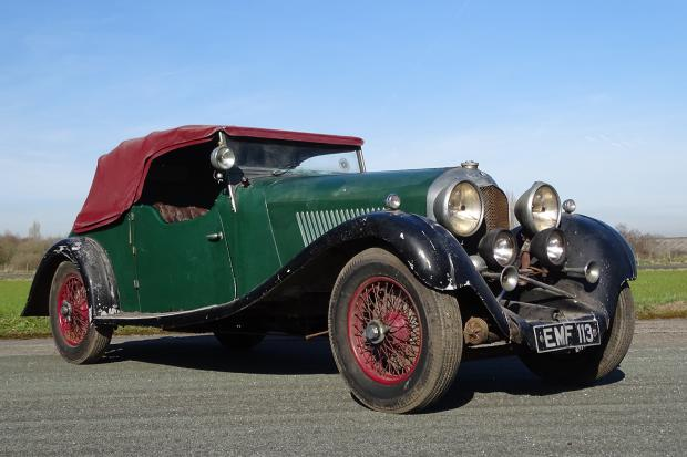 Classic & Sports Car – Unique barn-find Bentley could be the perfect birthday present