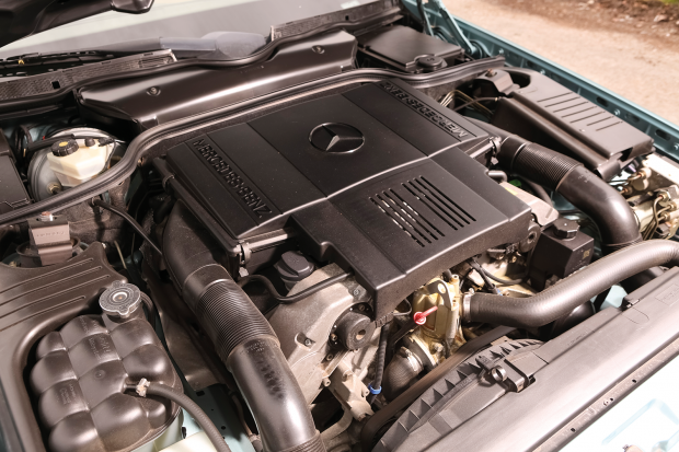mercedes benz service manual v8 engine m119