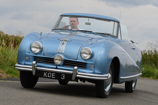 Classic & Sports Car – Austin A90 Atlantic: unintended British star