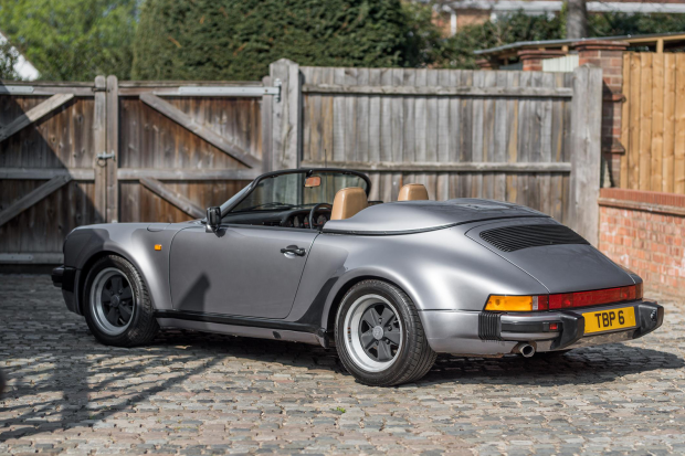 This must be the highest-mileage 911 Speedster ever