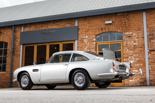 Classic & Sports Car – Bond's actual Aston Martin DB5 is coming to auction