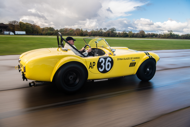 Not so mellow yellow: driving the 'Hairy Canary' Cobra