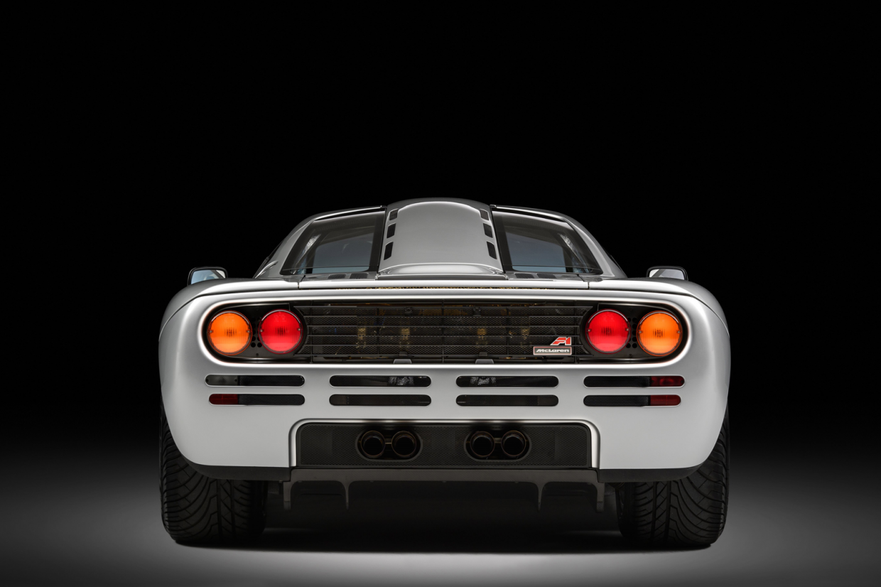 Classic & Sports Car – Restored McLaren F1 set for Concours of Elegance debut