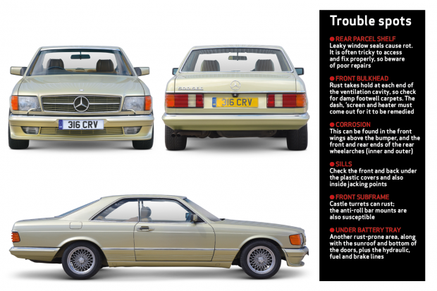 Mercedes-Benz SEC (C126) buyer's guide: what to pay and what to look