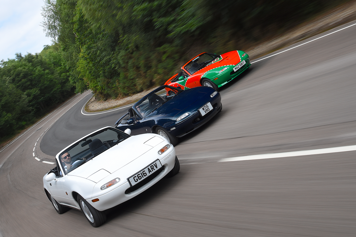 Classic & Sports Car – Mazda MX-5 at 30: the great pretender