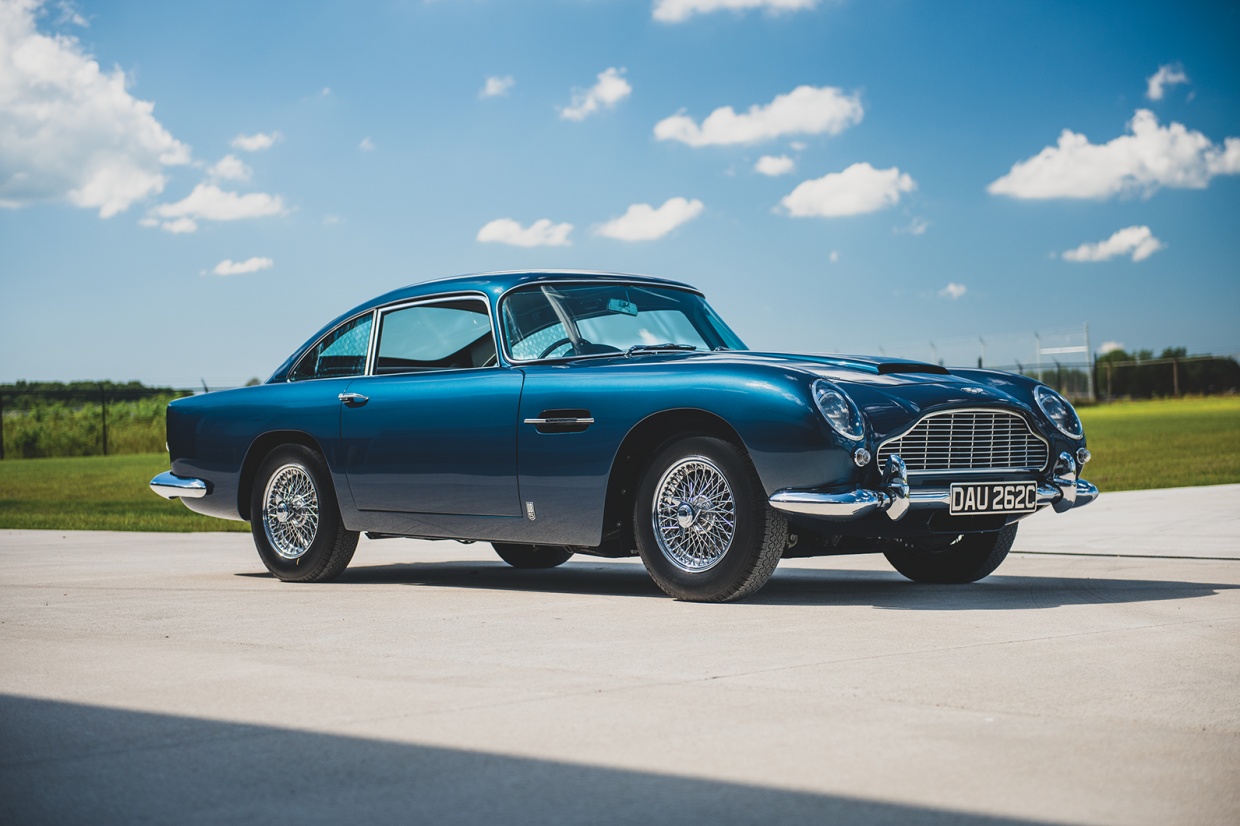 Classic & Sports Car – Fiat 8V Supersonic, Miura and DB5 lead 230-strong single-owner sale