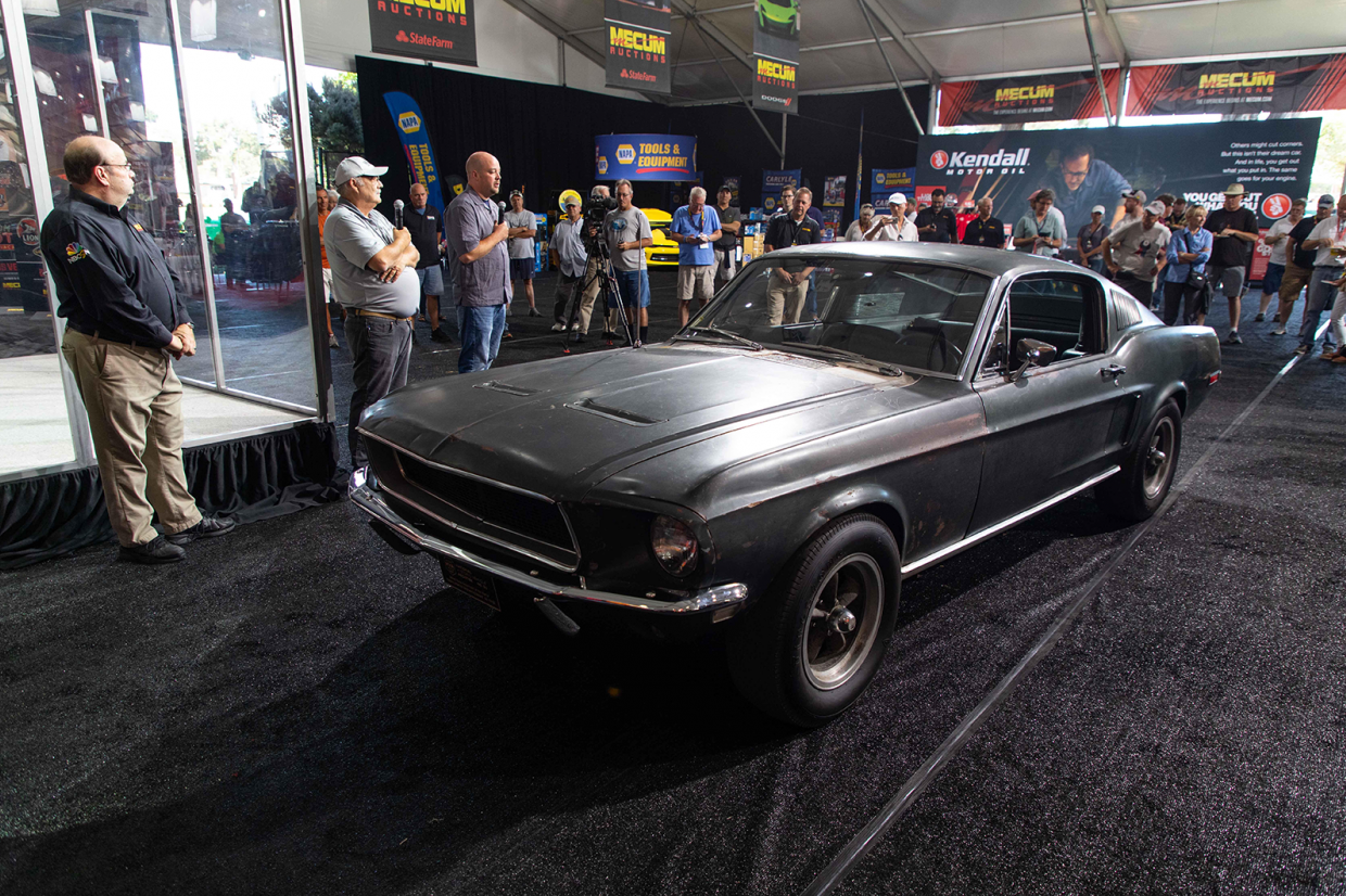 The Original Bullitt Mustang Will Be Sold This Friday Classic Sports Car