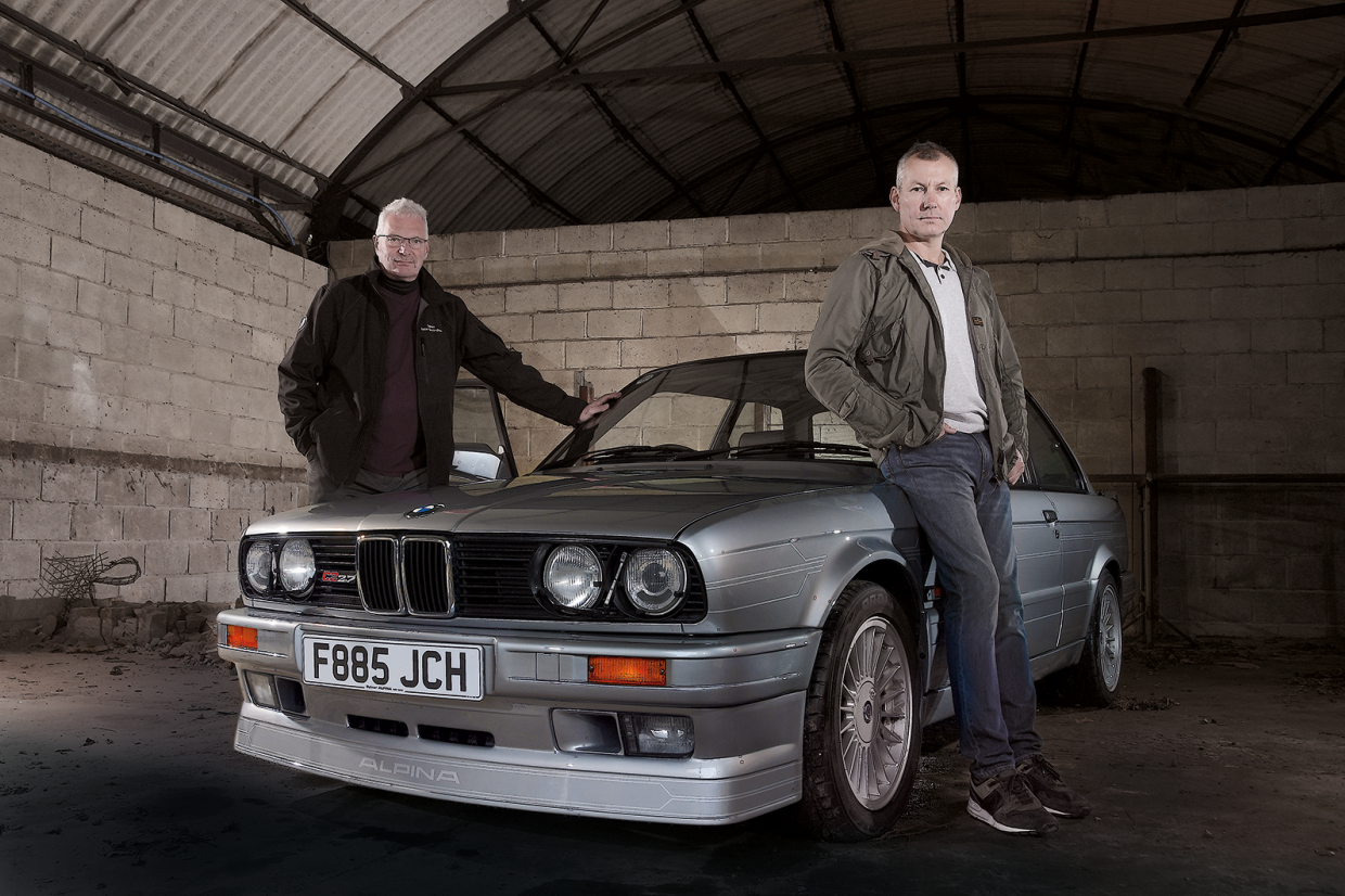 Alpina C2 2 7 Rare Bmw Meets Its Maker Classic Sports Car