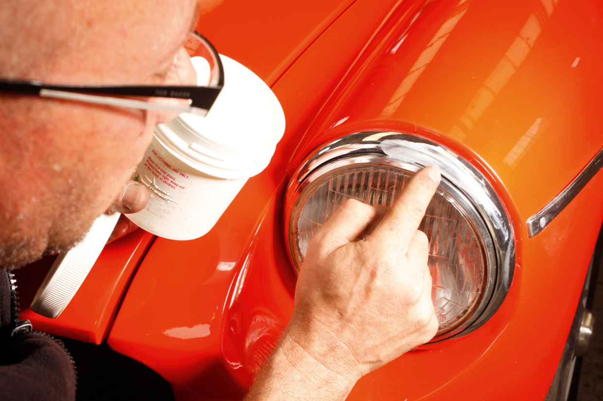 How to keep your classic car's brightwork bright