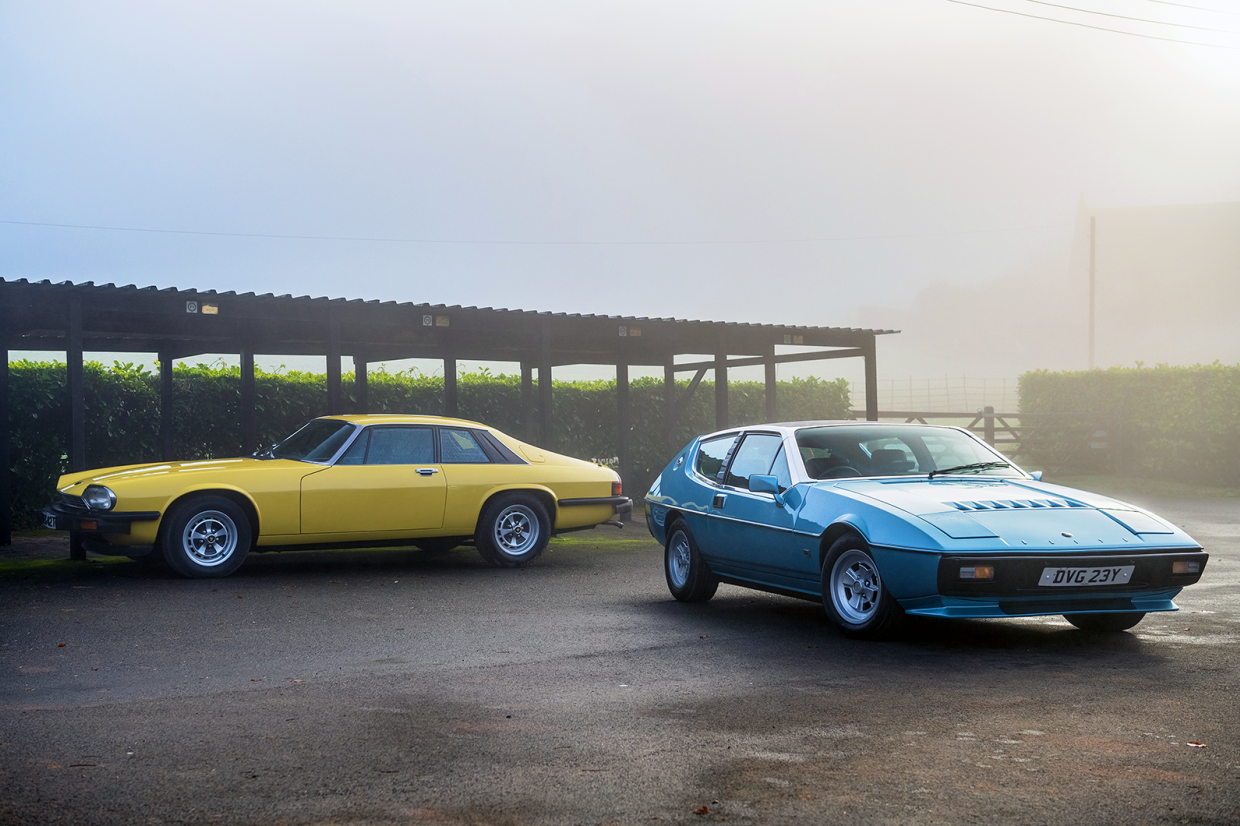 Classic & Sports Car – Jaguar XJ-S vs Lotus Elite: New order grand tourers