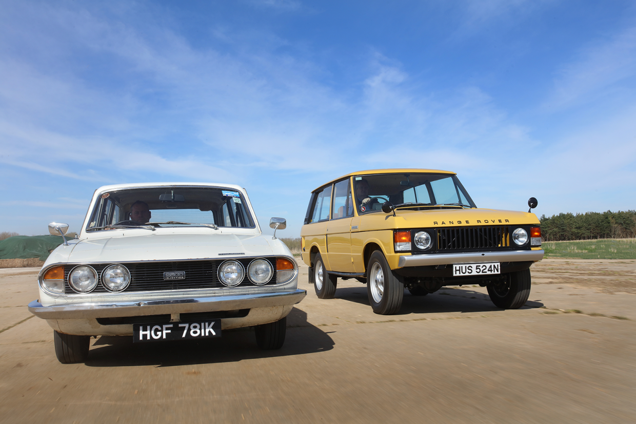 Classic & Sports Car – Estates of mind: Triumph PI Estate vs Range Rover