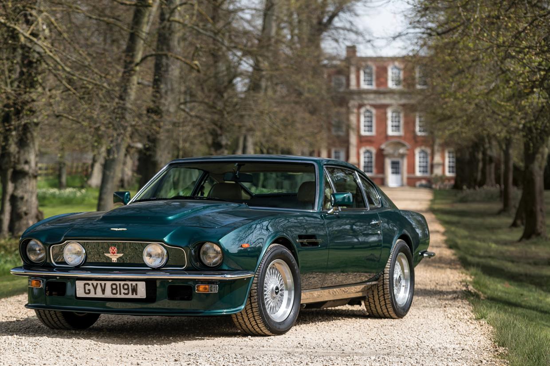 Advantage Aston Martin Driving The V8 Vantage Classic Sports Car