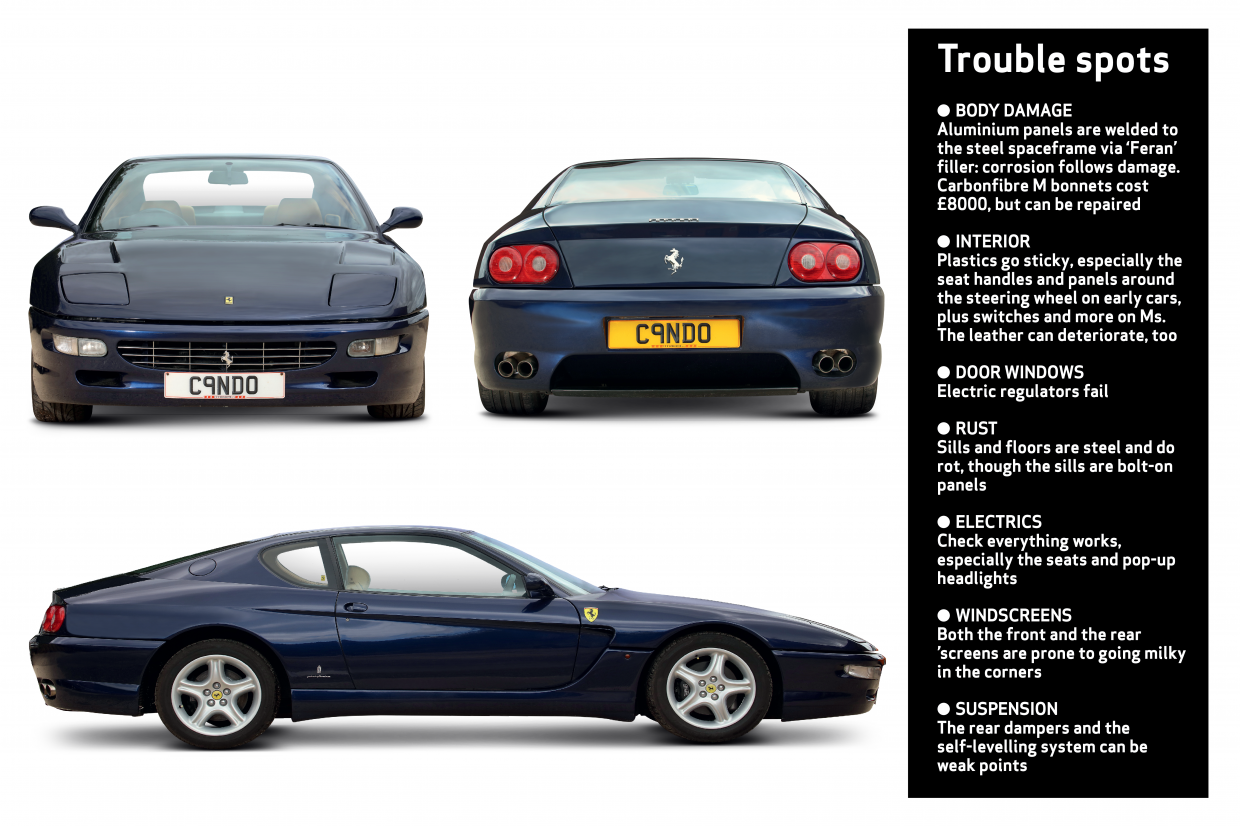 Ferrari 456gt Buyer S Guide What To Pay And What To Look For Classic Sports Car