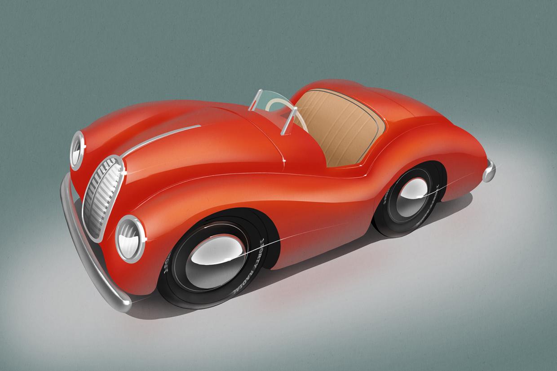 New Austin J40 Pedal Car Concepts Revealed Classic Sports Car