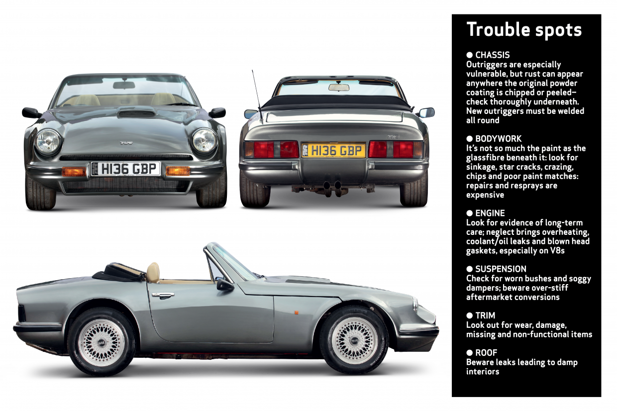 S1 280S S2 S3 S3C the essential buyers guide car book 1986-1996 TVR S-series