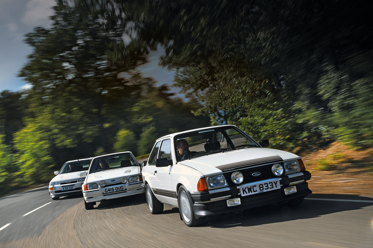 Classic & Sports Car – Blue-collar heroes: meet one man and his Ford Escort collection