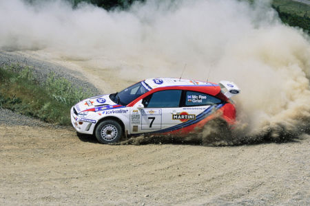 For sale: Ford Focus WRC driven by Colin McRae