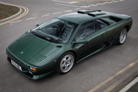 Lesser-spotted Lambo set for Silverstone auction