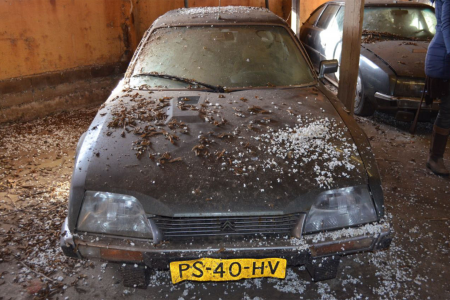 Incredible hoard of 148 Citroën CX barn-finds up for sale