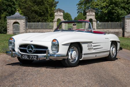 300SL Roadster revealed as the first entry to the Silverstone Classic Sale – Classic & Sports Car