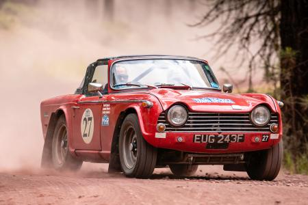 TR250 triumphs in the ERA's Trans-America Challenge – Classic & Sports Car