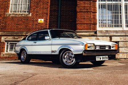 Classic & Sports Car – The Ford Capri that's also a work of art