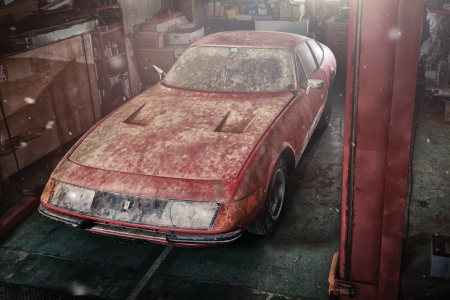 The Best Barn Find Ferraris Ever