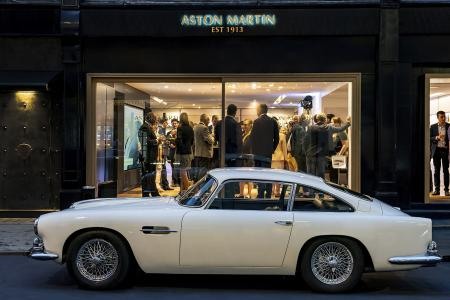Classic & Sports Car – Aston Martin opens classic Mayfair showroom
