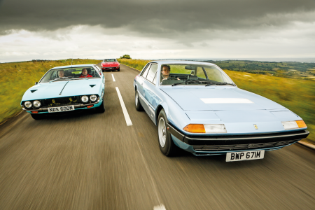 GT Class For The Family: Classic Coupés With Four Seats