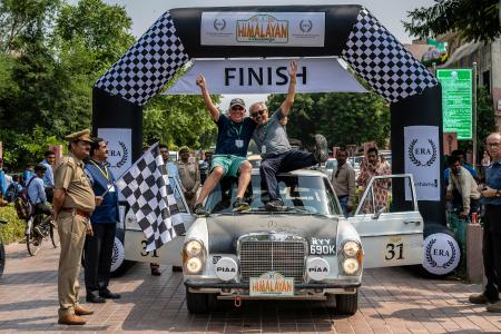 Classic & Sports Car – Merc's maiden win on ERA's epic Himalayan Challenge