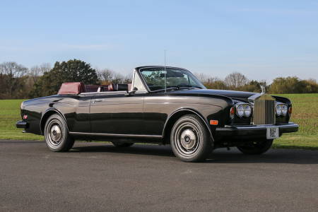 Come drive with me: Frank Sinatra's Rolls-Royce Corniche up for sale