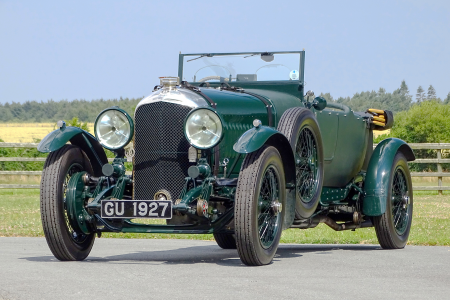 Classic & Sports Car – Bentley Boys 4½ Litre tops H&H Duxford sale