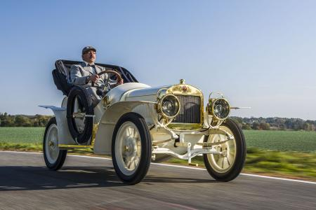 Classic & Sports Car – Sole surviving Laurin & Klement on show
