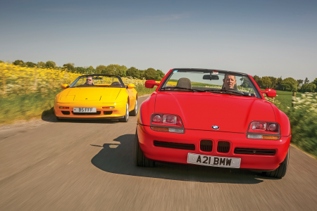 Classic & Sports Car – Daring to be different: Lotus Elan M100 vs BMW Z1