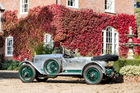 Maharaja's symmetrical Vauxhall 30-98 heading for sale
